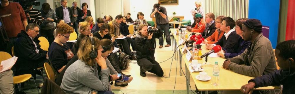 Die LIGA Berlin fordert den Senat auf: Keine Abschiebungen in Zeiten der Corona-Pandemie!