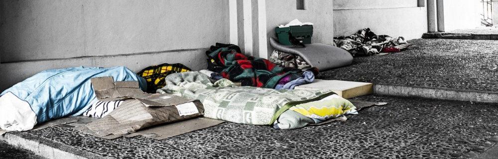 Wohnungslose Menschen benötigen zusätzlichen Schutz während Corona-Pandemie